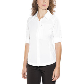 Columbia Silver Ridge Long Sleeve Shirt Women white